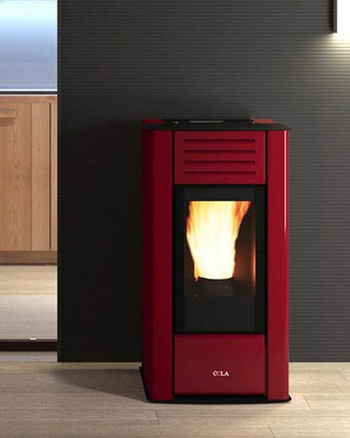 Thermo Poêle à pellets Perla 12.5 kW (HYDRO) COLA