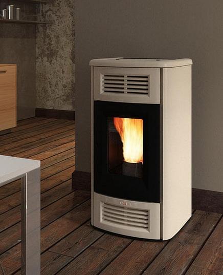Thermo Poêle à pellet Perla Lux 12.5 kW (HYDRO) COLA