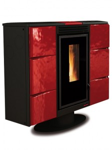 po le pellet elisir canalisable extraflame. Black Bedroom Furniture Sets. Home Design Ideas