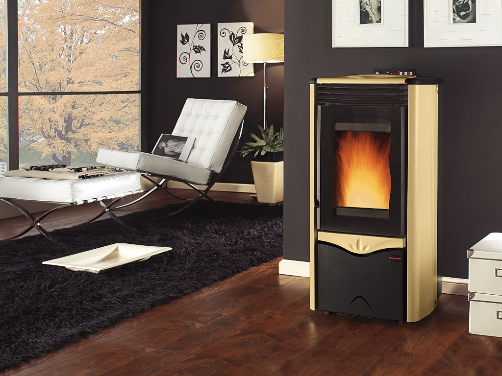 po les pellets extraflame faibles missions et pollution. Black Bedroom Furniture Sets. Home Design Ideas