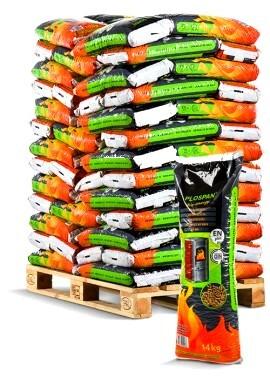 Pellet plospan 14 kg sac vert