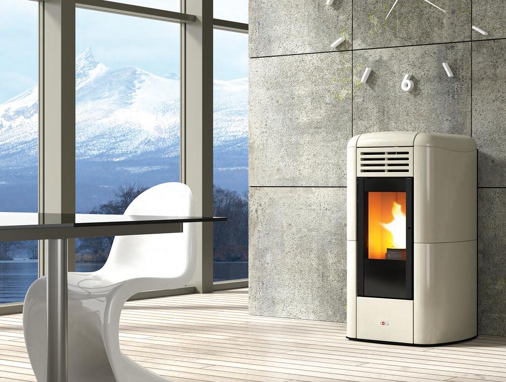 Charme Plus Thermo Poêle à Pellets hydro