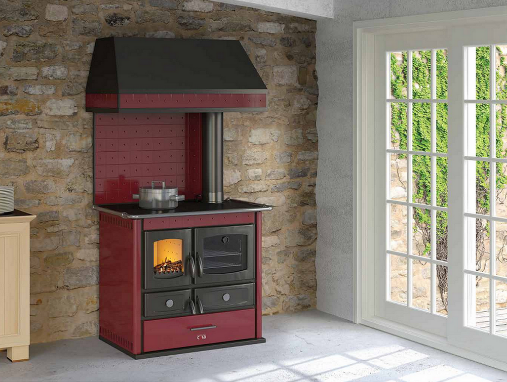 Thermo Helena Rustic Cuisiniere a bois