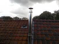 Installation tubage de cheminee.1