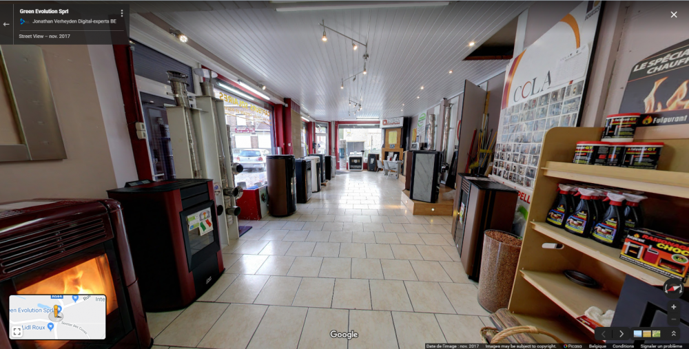 Aller voir notre magasin sur Google Street View !