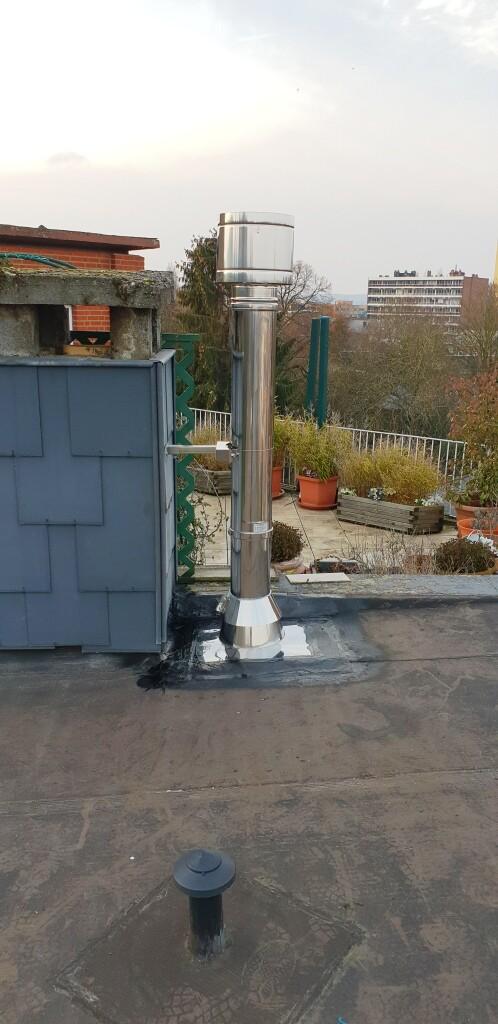 installation poêle à pellets – Tubage de Cheminée