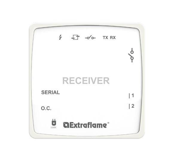 Kit thermostat sans fil wireless box receiver