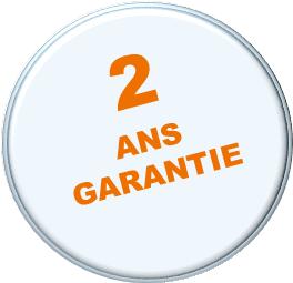 2 ANS GARANTIE