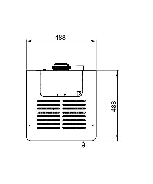 Elettra Evo Plus poêle a pellet dimensions 4