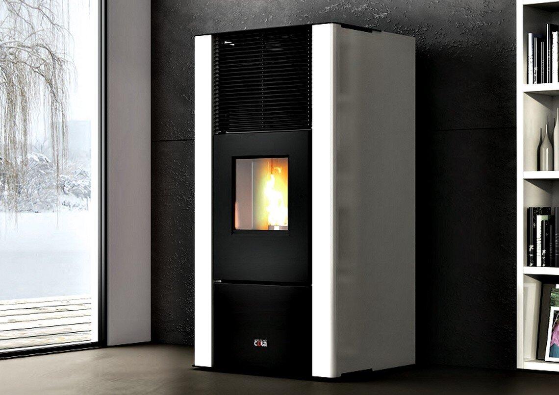 Poêle à pellets hydro Energyca 30S thermo - Anselmo Cola