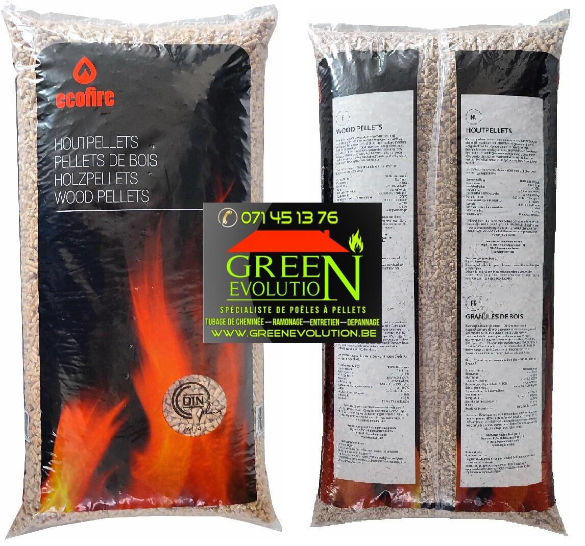Pellets Eco Fire granule de bois